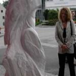 skulp.marmor  Rilke,wolle die....